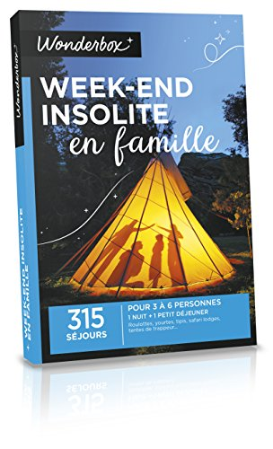 WONDERBOX - Coffret cadeau - WEEK-END INSOLITE EN FAMILLE