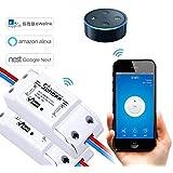 EVILTO- Sonoff Smart Switch, Wireless Switch Homekit, Smart-schalter Steckdose Home App Controller (2pcs)