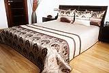 Luxus Tagesdecke Bettüberwurf 3 tlg. Set
