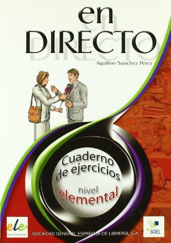 En directo elemental cuaderno de ejercicios