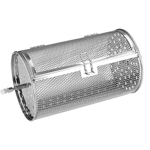 Aigostar master accessori per forno ad aria - cesto rotante o giabbia rotonda