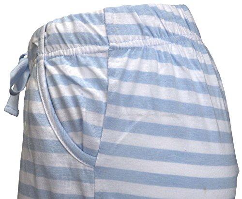 Octave -  Pantaloni  - Donna Blue & White Stripes