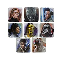 Use the protection of the Force to keep unsightly stains from your desk or table with these brilliant Star Wars: The Last Jedi Coasters. Featuring all your favourite characters from the blockbuster film Star Wars: The Last Jedi, this is a set...