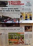 Telecharger Livres NOUVELLE REPUBLIQUE DU CENTRE OUEST LOIR ET CHER LA No 18078 du 19 04 2004 TALAMONI MIS EN EXAMEN L OMBRE DU RACKET EN CORSE APPEL A LA VENGEANCE DES PALESTINIENS DIALOGUE DE HAINE PAR HERVE CANNET SAINT JULIEN SUR CHER IL SE TUE EN ESSAYANT UN QUAD CYCLISME VICTOIRE BELGE SUR LE TOUR DE LOIR ET CHER TOM STUBBE LE REMPORTE SOLOGNE LES ENVAHISSEURS MENACENT LES ETANGS BLOIS UN BLESSE DANS UNE SORTIE DE ROUTE (PDF,EPUB,MOBI) gratuits en Francaise