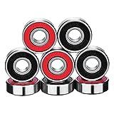 Best Bearings - eBoot 8 Pieces ABEC 9 Bearings Skateboard Bearings Review