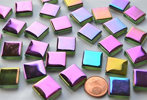 30-stuck-mosaiksteine-soft-glas-schimmernd-in-spektralfarben-15x15mm-ca60g