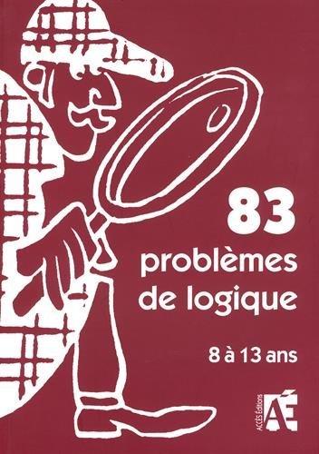 83 problèmes de logique