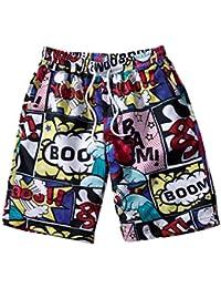 3e94588e9c FRAUIT Plus Size Oversize Pantaloni per Nuoto Spiaggia Mare Piscina Costumi  da Bagno Uomo Taglie Forti