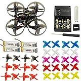 Happymodel Mobula7 Quadcopter Indoor Vierachser 2S 75mm Bürstenloser Whoop Racer Drone BNF mit extra 10 Paar Propeller (XM+ Receiver for Frsky EU-LBT Standard Version)