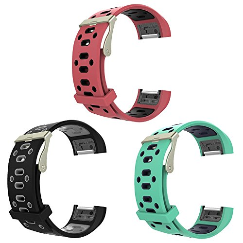 Turnwin for Charge 2 Band and Straps Small Replacement Silicone Wristbands for Fitbit Charge 2 Fitness Heart Rate Tracker, 3pack