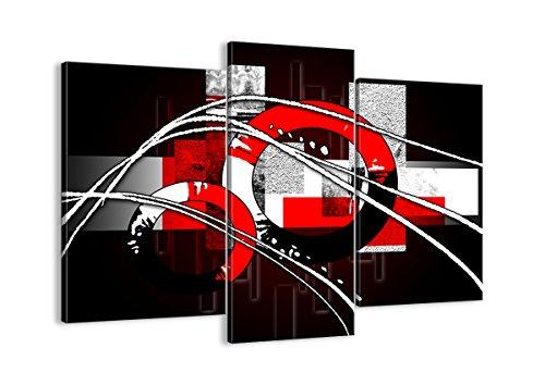 Cuadro sobre lienzo - 3 piezas - Impresión en lienzo - Ancho: 130cm, Altura: 100cm - Foto número 0587 - listo para colgar - en un marco - CB130x100-0587