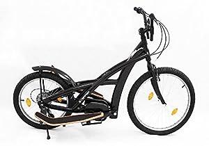 3GBikes Stepperbike Basic 24 Schwarz matt - Fitness Crosstrainer...