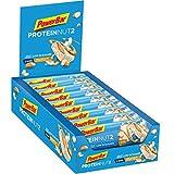 PowerBar Protein Riegel ProteinNut2 Eiweiß-Riegel (Kohlenhydratreduziert, kaum Zucker)  White Chocolate Almond , 18 x 45 g