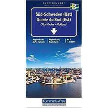 Kümmerly & Frey Karten, Süd-Schweden (Ost) (Kümmerly+Frey Reisekarten)