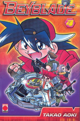 Beyblade Réédition Tome 4