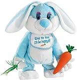 Playtastic Osterhase: Singender und Tanzender Hase Barney mit Stoff-Karotte (Singender Osterhase)
