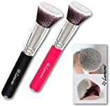 Kabuki Foundation Brush (Black and Pink)