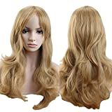 """Best Blonde Hairs - S-noilite Sexy Lady Full Wig 19"""" Curly Ash Review"""