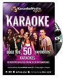 Canciones Karaoke - 50 Canciones a Elegir Fiesta KaraokeMedia [DVD-USB-PC-HD-PLAYSTATION]