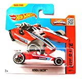 Hot Wheels Honda Racer rot-weiß 182/250 1:64