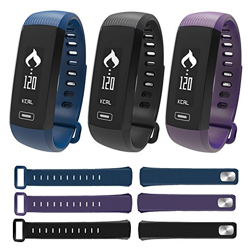 FANCY CHERRY M2 Smart Watch Fitness Tracker Bracelet Bluetooth Smartband Blood Pressure Blood Oxygen Oximeter Heart Rate Monitor Pedometer Sport Gym Wristband Health Monitor For IOS IPhone 5 5s