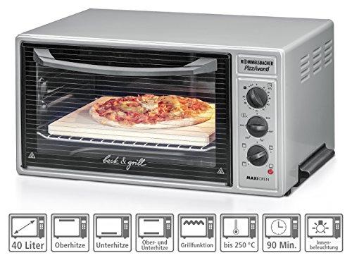 ROMMELSBACHER BG 1600 PizzAvanti Pizzaofen - 6