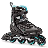 Rollerblade 07736700_915, Pattino in Linea Donna, Nero Blu Cyan,...