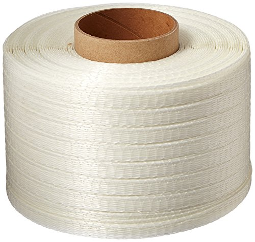 x 1500' Woven Poly Cord Strapping Single Coil, 650 lb by PACSTRAP (Poly Cord)