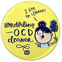 Alicia Souza OCD Cleaner badge