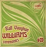 Vaughan Williams: Symphonies [Valery Polyansky, Gennady Rozhdestvensky, Boris Abalian] [Melodiya: MELCD 1002170]