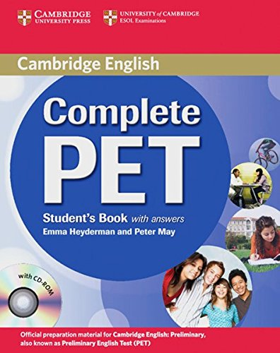 Preisvergleich Produktbild Complete PET: Student's Book with answers and CD-ROM