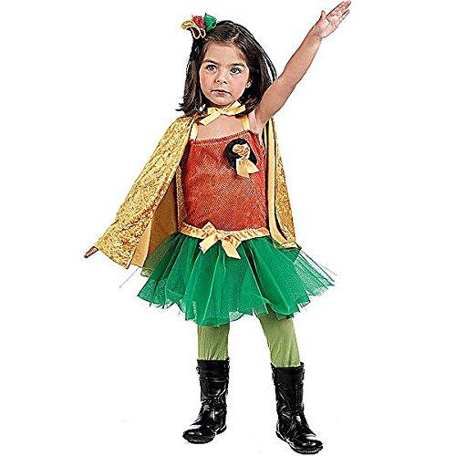 Robin Girl Superhelden Kostüm Mädchen 3-teilig - 2 Jahre
