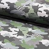 Brittschens Stoffe und Zutaten Stoff Softshell   Camouflage