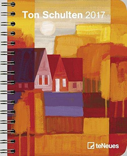 2017 Ton Schulten Diary - teNeues Large Deluxe Diary - Art Diary - 16.5 x 21.6 cm por Ton Schulten