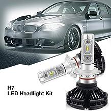 H7 llevó el kit de la conversión de los bulbos de la linterna 10PCS-PHILIPS LUXEON-ZES virutas 12000LM 3000K 6500K 8000K DIY