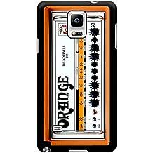 Color naranja y guitarra casos