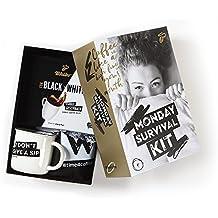 Tchibo Kaffee Geschenke Überraschungspaket mit Kaffeebecher, Geschenkkarte als Surprise Box
