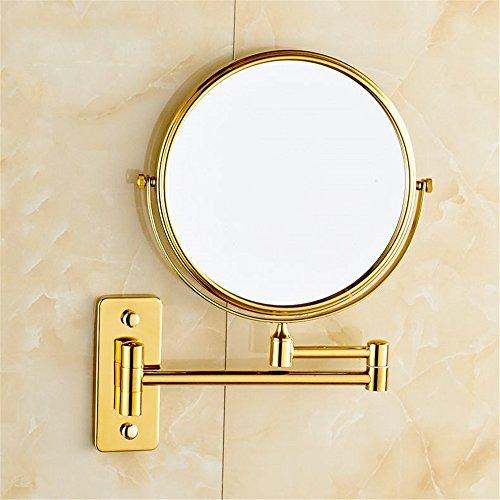 Treu Hohe Qualität Doppel Seite Friseur Spiegel Schreibtisch Make-up Spiegel 1:2 Vergrößerungs Funktion Glas Kosmetik Spiegel Spiegel Schönheit & Gesundheit
