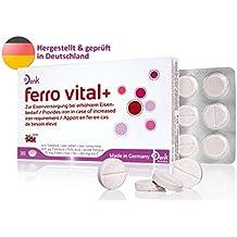 Denk ferro vital+ - 30 Eisentabletten zur Nahrungsergänzung