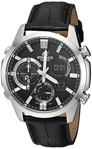 Casio Men's 'Edifice' Quartz Stainless Steel Casual Watch, Color Black (Model: ERA500L-1A)