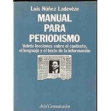 Manual para periodismo