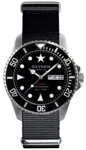 3ea3227e6afd Oxygen EX-D-MOB-44-BL - Reloj analógico de cuarzo unisex