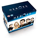 Heroes (Complete Series 1-4) - 18-Disc Box Set ( Heroes - The Complete Collection ) (Blu-Ray)