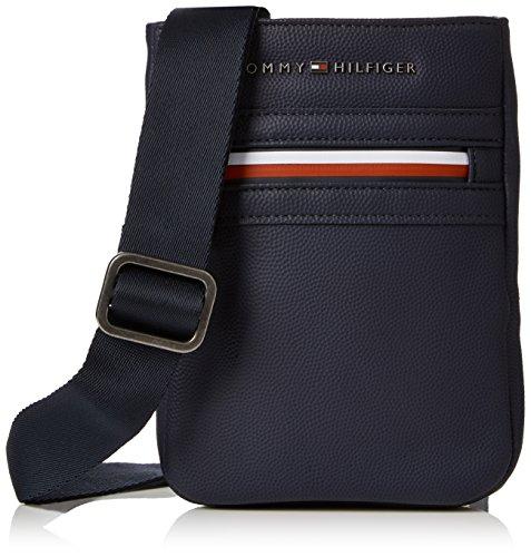 Tommy Hilfiger 2 Tasche (Tommy Hilfiger Herren Essential Compact Crossover Ii  Tasche, Blau (Tommy Navy), 15x20x3 cm cm)