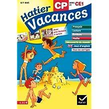 Hatier Vacances - du CP vers le CE1, 6/7 ans