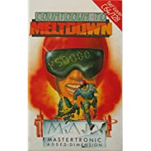 Mastertronic Added Dimension - Countdown To Meltdown Commodore C64/128 Game