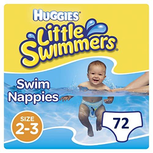 75c4ea80e837 Huggies Little Swimmers desechables pañales de nadar, tamaño 2 - 3- 72  pantalones total