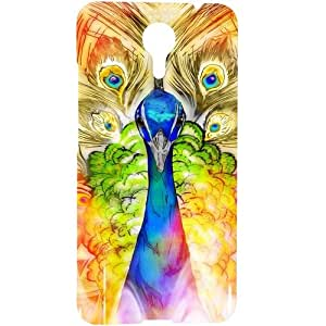 Casotec Colorful Joy Pattern Design 3D Hard Back Case Cover for Micromax Canvas Xpress 2 E313