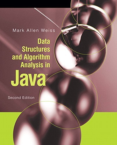 Data Structures and Algorithm Analysis in Java (2nd Edition) 2nd edition by Weiss, Mark A. (2006) Hardcover