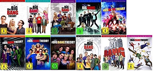 The Big Bang Theory Staffel 1-11 (1+2+3+4+5+6+7+8+9+10+11) [DVD Set] - Bang Dvd Theory